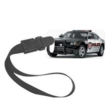 Police Charger Luggage Tag