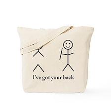 i got your back cu ochi Tote Bag