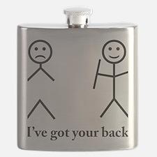 i got your back cu ochi Flask