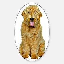 Goldendoodle Sticker (Oval)