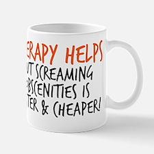 therapy copy Mug