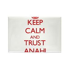 Keep Calm and TRUST Anahi Magnets