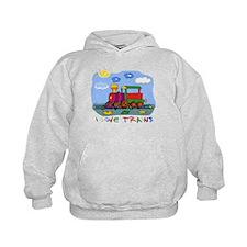 I Love Trains Hoody