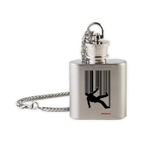 freefallPOSTER Flask Necklace