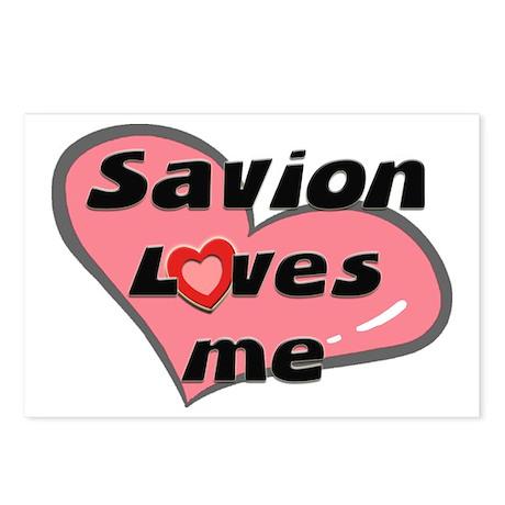 savion loves me Postcards (Package of 8)