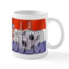Soccer Flag Croatia Mug