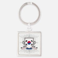 koreashield Square Keychain