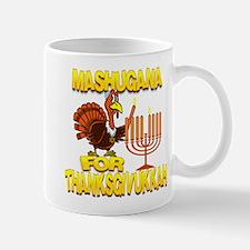 Mashugana For Thanksgivukkah Turkey and Menorah Mu
