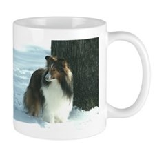 Winter Day Sheltie Mug