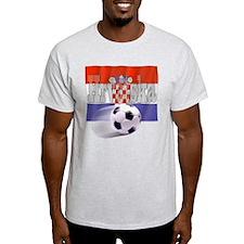 Soccer Flag Hrvatska T-Shirt