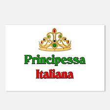 Principessa Italiana (Italian Princess) Postcards