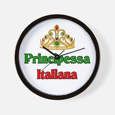 Principessa Italiana (Italian Princess) Wall Clock