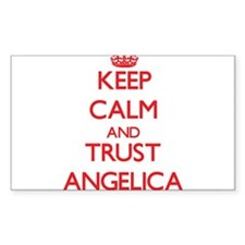 Keep Calm and TRUST Angelica Bumper Stickers