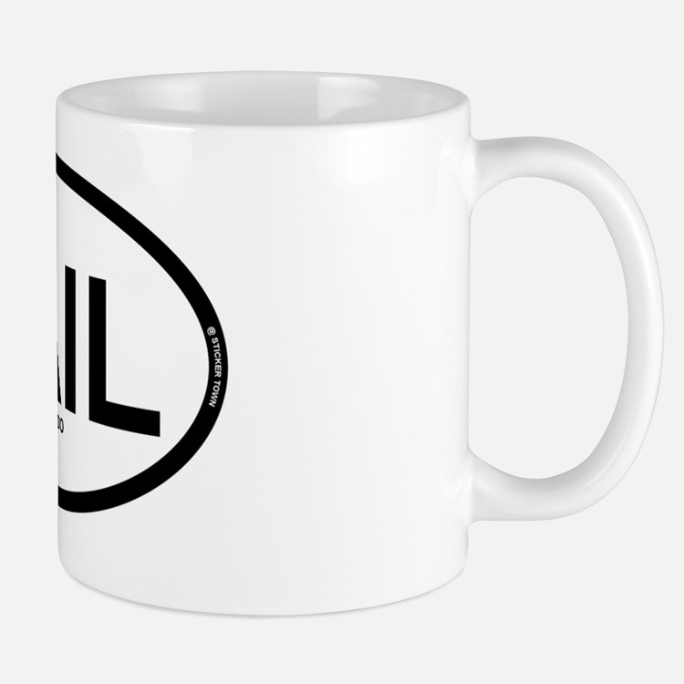 vail colorado oval 1 Mug