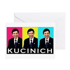 Kucinich  Greeting Cards (Pk of 10)