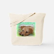 Kant's Pup Tote Bag
