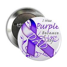 "I Wear Purple Because I Love My Dad 2.25"" Button"