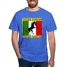 Classic Royal Blue Italian Stallion T-Shirt