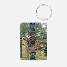 Totem Pole Keychains