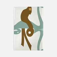 Bigfoot_Lochness Rectangle Magnet
