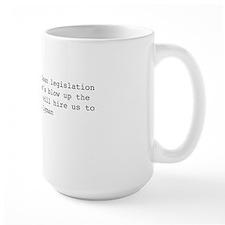 Josh Lyman Quote Mug