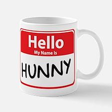 Hello My Name is Hunny Mug