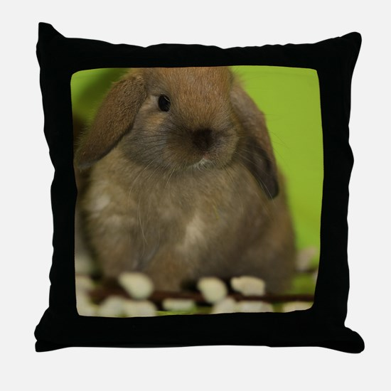 bunny_9 Throw Pillow