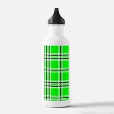 nooksleevegreenplaidpn Water Bottle