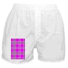 nooksleevepinkplaidpng Boxer Shorts