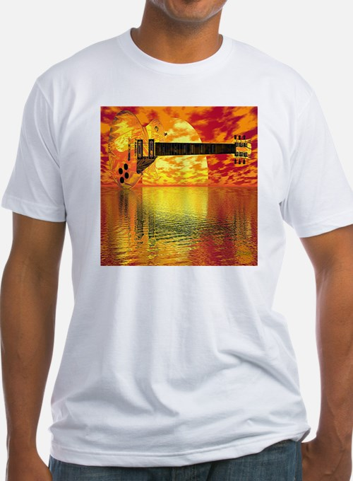 SunsetGuitarShower2 Shirt