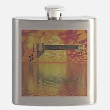 SunsetGuitarShower2 Flask