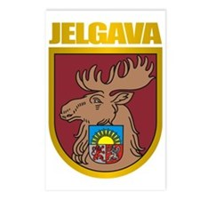Jelgava COA Postcards (Package of 8)