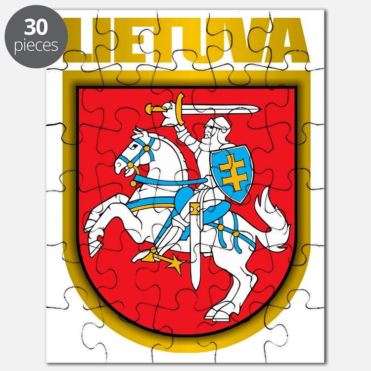 Lithuania COA 2 Puzzle