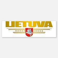 Lithuania (Flag 10) pocket 2 Sticker (Bumper)