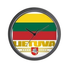 Lithuania (Flag 10)2 Wall Clock