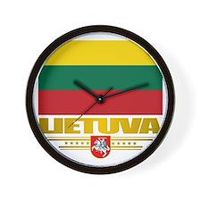 Lithuania (Flag 10)2 Wall Clock