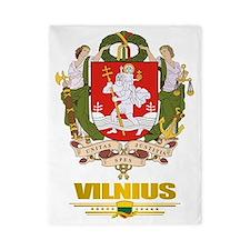 Vilnius COA (Flag 10)2 Twin Duvet