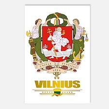 Vilnius COA (Flag 10)2 Postcards (Package of 8)