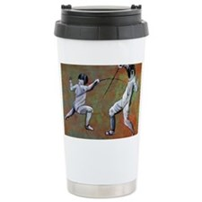 Sword fight Travel Coffee Mug