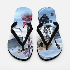 GlassBass Flip Flops