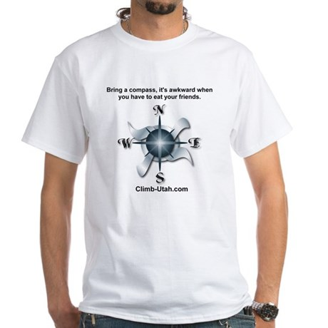 Compass White T-Shirt