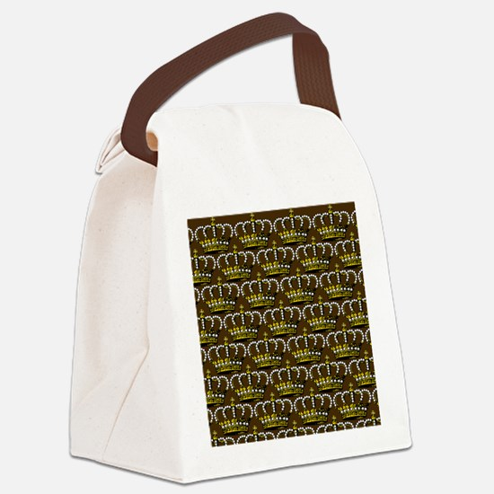 MGPearlCrownPbrShowerC Canvas Lunch Bag