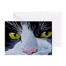 tuxshoulder Greeting Card