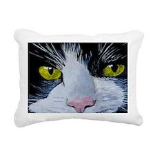 tuxshoulder Rectangular Canvas Pillow