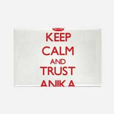 Keep Calm and TRUST Anika Magnets