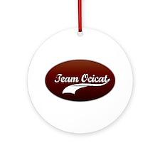 Team Ocicat Ornament (Round)