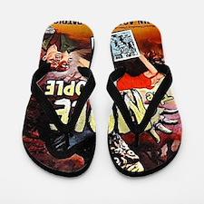 mole people BIG Flip Flops