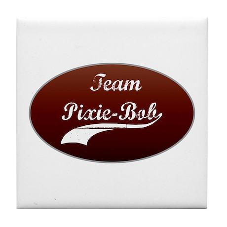 Team Pixie-Bob Tile Coaster