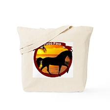 Paso Fino Sunset Tote Bag