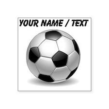 Custom Soccer Ball Sticker